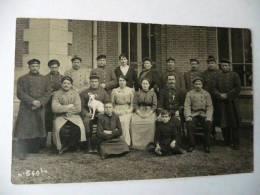 CPA - Carte-Photo D´un Groupe De Marins, 1914-18, Top Animée En Gros Plan, Mulard à Yerres - Guerre 1914-18