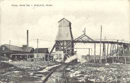 EVELETH - Minnesota - Saint Louis County - US - Fayal Mine N° 1 -  1911 - Etats-Unis