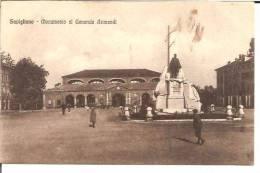 SAVIGLIANO .Monumento Al Generale Arimondi                       Animation - Italie