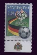 St Marin **  N° 2049 - Coupe Du Monde De Foot En Allemagne - Saint-Marin