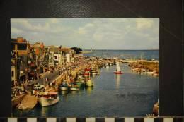 44 LE CROISIC Vue Générale Du Port ; Chalutiers, Voiliers, Yachts, Voitures - Animée - Le Croisic