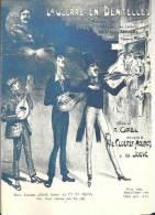 Menu Vierge  AIR FRANCE  01/1988  D´après Gravure De Partition D´ Epoque -  LA GUERRE EN  DENTELLES  R.  GAEL, CLOEREC - - Menus