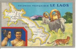 LE LAOS - Colonies Françaises - Laos