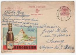 CP PUB PUBLICITE BIERE BERGENBIER - Autres Collections