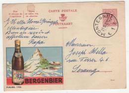 CP PUB PUBLICITE BIERE BERGENBIER - Alcools