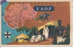 L'A.O.F  - Union Française - Cartes Postales