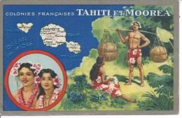 TAHITI Et MOOREA - Colonies Françaises - Tahiti