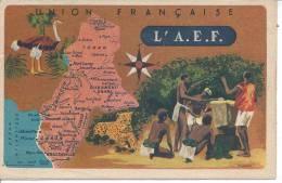 L'A.E.F.  - Union Française - Cartes Postales