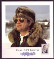 ROYAL FAMILY - KING CARL XIV GUSTAF SWEDEN SCHWEDEN SUEDE 1993 MNH 1793   ON Collection Card - Slania - Koniklijke Families