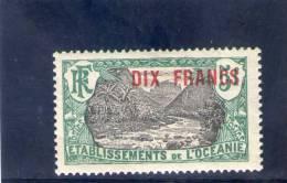 OCEANIE 1926-7 * - Ohne Zuordnung