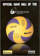 PALLAVOLO - ITALIA 2010 - FIVB MEN´S VOLLEYBALL WORLD CHAMPIONSHIP - CARTOLIMA MIKASA - Volleyball