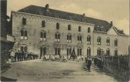 Forges-Baelen-Lez-Dolhain   : Pensionnat De Saint Francois :  Vue Du Sud Quest Et Cour De Récréation - Baelen