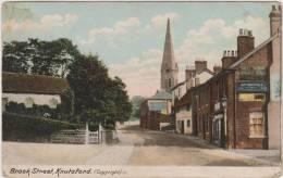 Brook Street, Knutsford. Post Used 1905. - Altri