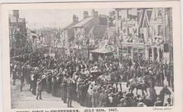 Royal Visit To Chippenham, July 20th 1907. Unused Card - Non Classificati