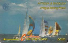 Antigua, ANT-7B, Sailing Week, Ship, Sport , 7CATB. - Antigua And Barbuda