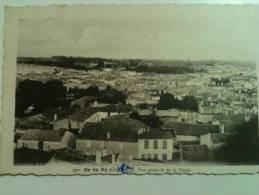 """Cpa  ILE DE RE  """" Vue Generale De La Flotte 1958  """"  2.50 Port Compris """" - Ile De Ré"""