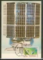 TARJETA MAXIMA (Carte Maximum - Maximum Card ) PRIMER SATELITE ESPAÑOL INTASAT- (Spanish First Satellite - Maximum Cards