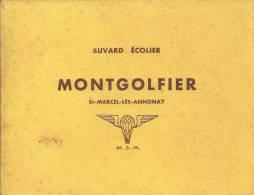 "Buvard ""MONTGOLFIER"" - Carte Assorbenti"