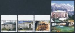 """REPUBLIC OF KOSOVO 2011, """"The Old Mills"""", Set Of 4v & Minisheet** - Kosovo"""