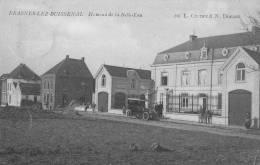 FRASNES LEZ BUISSENAL - Hameau De La Belle-Eau - Carte Très Animée Avec Voiture - Frasnes-lez-Anvaing