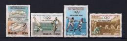 ITALIA 1996, YVERT 2178/2181**, JUEGOS OLÍMPICOS DE ATLANTA 96, DEPORTES, OLIMPIADAS - Verano 1996: Atlanta