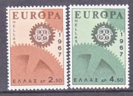 Greece 891-2   *  EUROPA - Greece