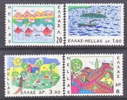 Greece 905-8   *  SAIL  BOATS - Greece
