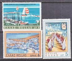 Greece 942-4   *  TOURISM - Greece