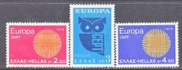 Greece 985-7  Fault   * EUROPA - Greece