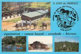 : Réf : N-12- 0169  : Saint Aubin Des Ormeaux équitation - Unclassified