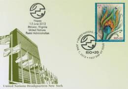 "ONU New-York 2012 - Show Card NAPEX McLean 1-3 June 2012 ""RIO+20"" - Unclassified"