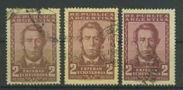 VEND TIMBRES D ´ ARGENTINE , N° 578 X 3 NUANCES DIFFERENTES !!!! - Argentina