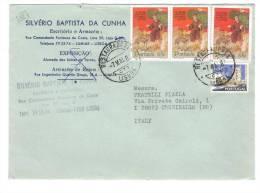 VER1887 - PORTOGALLO , Lettera Commerciale Per L' Italia. - Lettere