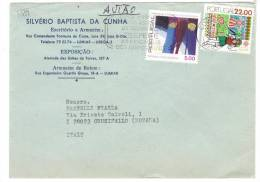 VER1889 - PORTOGALLO , Lettera Commerciale Per L' Italia. - Lettere