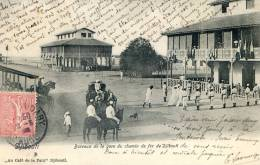 Djibouti - Bureaux De La Gare Du Chemin De Fer - Djibouti