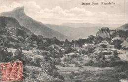 INDE DUKES NOSE KHANDALLA  CIRCULEE 1925 - India