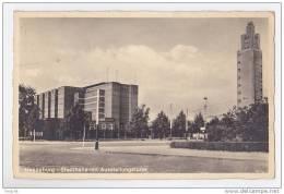 MAGDEBURG  STADTHALLR MIT AUSSTELLUNGSTURM - Magdeburg