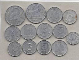 German Democratic Republic  -  DDR  13 Coins     M-12 - [ 6] 1949-1990 : RDA - Rep. Dem. Alemana