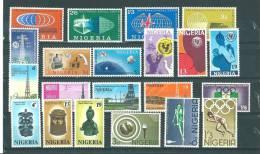 Nigéria: 110/ 113 - 161/ 163 - 171/ 173 - 257/ 266 ** - Nigeria (1961-...)