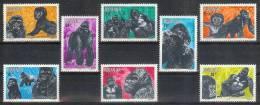 Mmg008 FAUNA ZOOGDIEREN AAP GORILLA MAMMALS MONKEY PRIMATE RWANDA 1983 PF/MNH - Gorilla's