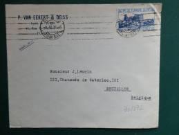 30/372    LETTRE  POUR LA BELG.  1938 - Tunisia (1888-1955)