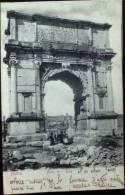 ROMA Arco Di Tito - Formato Piccolo Viaggiata Nel 1902 Retro Indiviso - Roma (Rome)