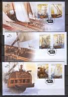 Greece 2012 Greek Shipping II FDC - Barcos