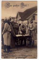 ROYAL FAMILIES EMPEROR FRANZ JOSEF THE EMPEROR IN WINTER IN BATTLE MASUREN OLD POSTCARD - Royal Families
