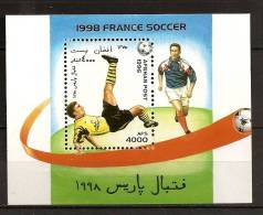 Afghanistan Afghanes 1996 N° BF 72 ** Sport, Football, Coupe Du Monde 98, France, Ballon, Retourné Accrobatique - Afghanistan