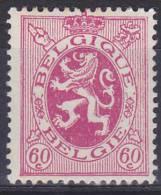BELGIË - OBP -  1929 - Nr 286 - MH* - 1929-1937 Heraldieke Leeuw