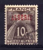 Algeria - 1947 - 10 Cents Postage Due - Used - Algeria (1924-1962)