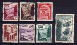 Morocco - 1951/54 - Pictorials (Part Set) - Used - Maroc (1891-1956)