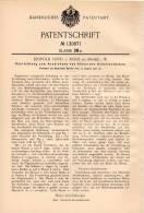 Original Patentschrift - Leopold Orth In Milse B. Brake I.W., 1901 , Anzeichnen Von Hölzernen Arbeitsstücken !!! - Architektur