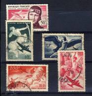 FRANCE 1946/1955 Y&T O A16-A19/A34 - 1927-1959 Gebraucht